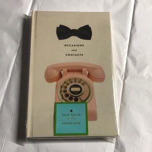 Kate spade phone book NWT